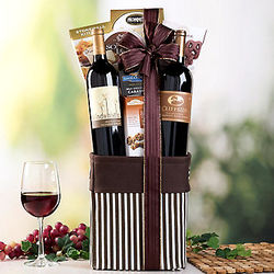 California Reds Duet Gift Basket