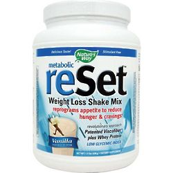 Metabolic ReSet Weight Loss Vanilla Shake Mix