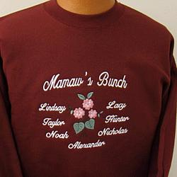 Personalized 'Bunch' of Kids Family Shirt