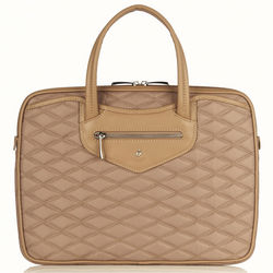 Charlotte Slim Taupe Briefcase
