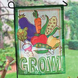 Vegetables Mini Garden Flag
