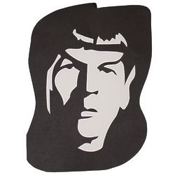Mr. Spock Hand Cut 8x10 Paper Art