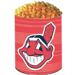 Cleveland Indians 3 Way Popcorn Tin