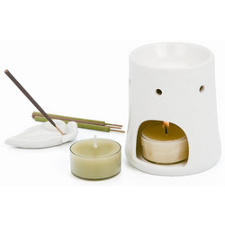 Chi Oil Burner Spa Set