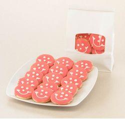 Mini Baby Girl Smiley Cookies