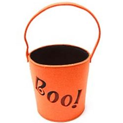 Boo! Halloween Trick-or-Treat Bucket