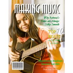 Making Music Personalized Magazine Cover