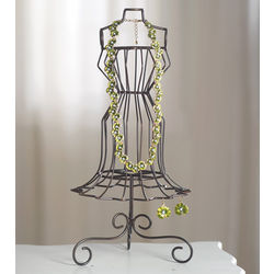 Wire Jewelry Mannequin