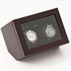 Wooden Double Automatic Watch Winder