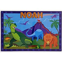 Kid's Personalized Dinosaur Placemat