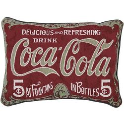 Vintage Coca-Cola Pillow