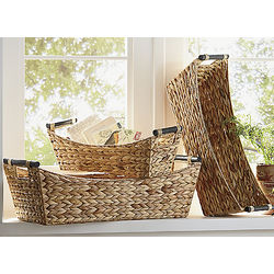 Nesting Seagrass Baskets