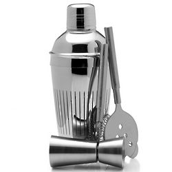 Cheers Stainless Steel Bar Set