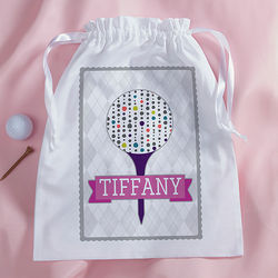 Sassy Lady Personalized Golf Accessory Bag