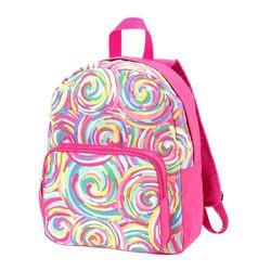 Personalized Summer Sorbet Preschool Backpack