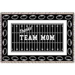 Thanks! Team Mom Football Afghan