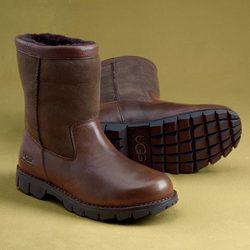 Men's Slip-On Sheepskin Boots