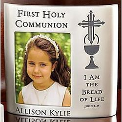 Personalized Communion/Confirmation Photo Frame