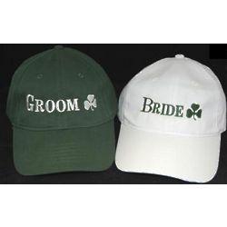 Irish Bride and Groom Cap