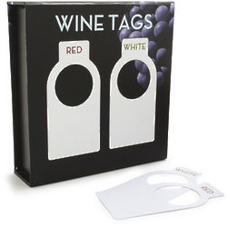 100 Premium Wine Bottle Tags