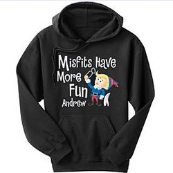 Personalized Hermey Character Adult Hoodie