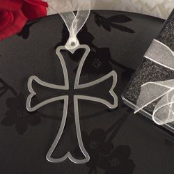 Mark it with Memories Cross Design Bookmark