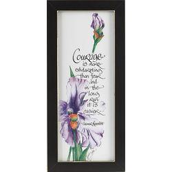 Eleanor Roosevelt Courage Framed Print
