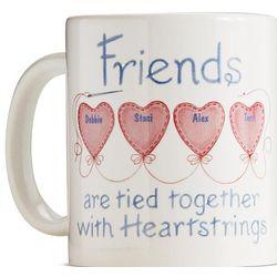 Personalized Friends Heartstrings Mug