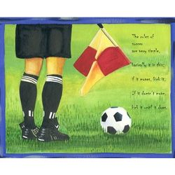 Rules of Soccer Personalized Print