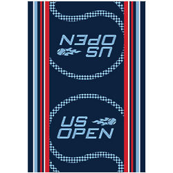 US Open Blue Tennis Towel