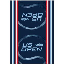 US Open Blue Tennis Towel