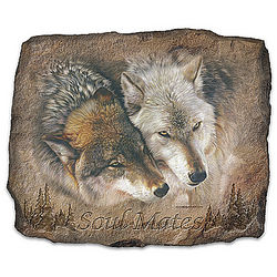 Soul Mates Wolf Wall Decor