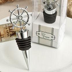 Ship's Wheel Bottle Stopper
