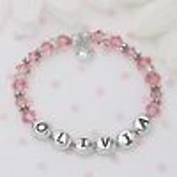 Swarovski® Baby's First Birthstone Bracelet
