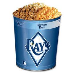 Tampa Bay Devil Rays 3-Way Popcorn Tin