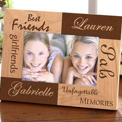 Best Friends Wood Frame