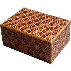 4 Sun 21 Steps Akaasa Japanese Puzzle Box