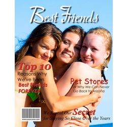 Best Friends Personalized Magazine Cover