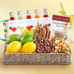 Margarita Entertaining Snack Basket