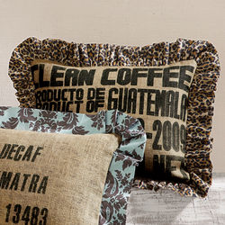 Coffee Bag Pillows