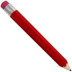 Red Jumbo Pencil