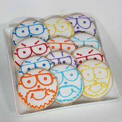 Dozen Pittsburgh Dad Cookies