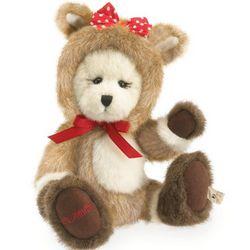 Clarice Plush Holiday Teddy Bear Stuffed Animal