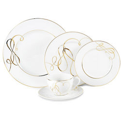 Love Story Gold Dinnerware Set
