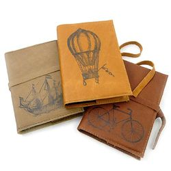 Rustic Leather Travel Journal