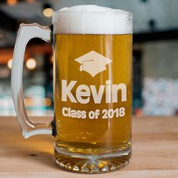 Personalized Graduation Glass Mug