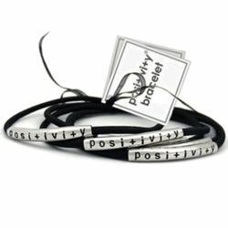 Positivity Stretch Bracelet Set