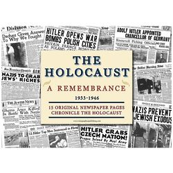 Holocaust Memorial & Remembrance Newspaper