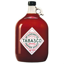 Original Red Gallon Tabasco Brand Pepper Sauce