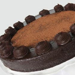 Classic Chocolate Flourless Truffle Cake